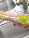 szilikon ecset hosszúkezes csésze bögre tisztító kefe üveg baba tej üveg mosó kefe háztartási konyhai tisztító szerszámok