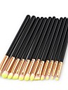 11pcs Makeup Brushes Professional Eyeshadow Brush Synthetic Hair Eco-friendly / Soft / Full Coverage Wood