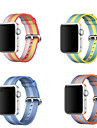 Bracelet de Montre  pour Apple Watch Series 3 / 2 / 1 Apple Bracelet Sport Nylon Sangle de Poignet