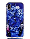 Coque Pour Apple iPhone X / iPhone 8 Motif Coque Animal Flexible TPU pour iPhone X / iPhone 8 Plus / iPhone 8