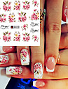 20pcs Nail Sticker Nail Stamping Template Stickers 3D Print