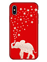 Coque Pour Apple iPhone X iPhone 8 Plus Motif Coque Elephant Bande dessinee Flexible TPU pour iPhone X iPhone 8 Plus iPhone 8 iPhone 7
