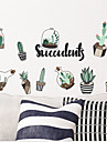 Autocolantes de Parede Decorativos - Autocolantes de Avioes para Parede Paisagem / Floral / Botanico Sala de Estar / Quarto / Banheiro / Removivel / Reposicionavel