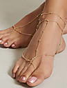 Barefoot Sandals - Vintage Gold For Daily / Holiday