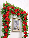 Artificial Flowers 1 Branch Party / Evening / Wedding Roses Wall Flower