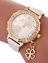 Women\'s Fashion Watch Quartz Casual Watch PU Band Analog Charm Fashion Black / White / Blue - Purple Fuchsia Blue