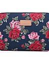 Manche Fleur Toile pour MacBook Pro 13 pouces / MacBook Pro 15 pouces / MacBook Air 13 pouces
