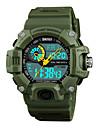SKMEI Pánské Sportovní hodinky Digitální hodinky japonština Digitální Z umělé kůže Černá / Zelená 50 m Voděodolné Alarm Chronograf Analog - Digitál Na běžné nošení Módní - Červená Zelená Modrá Jeden