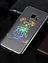 Coque Pour Samsung Galaxy S9 / S9 Plus IMD / Motif Coque Animal Flexible TPU pour S9 Plus / S9 / S8 Plus
