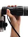 8 X 40 mm מונוקולרי נייד ראיית לילה BAK4 ציד דיג מחנאות / צעידות / טיולי מערות ABS + PC / Yes
