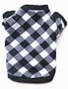 Σκυλιά / Γάτες / Κατοικίδια Πουλόβερ / Χειμωνιάτικη ένδυση Ρούχα για σκύλους Καρό / Τετραγωνισμένο / Κινούμενα σχέδια Βαμβάκι Στολές Για