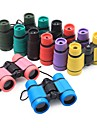 4X30mm Binoculars Portable / Lightweight BAK4 90/100m Camping / Hiking / Caving ABS+PC