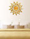 luova aurinko auringonpaiste palo auringonkukka seinä tarra 3d peili vaikutus taide seinämaalaus irrotettava tarratarrat muraux sisustus