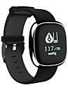 STP2 Muškarci Smart Satovi Android iOS Bluetooth Vodootporno Heart Rate Monitor Mjerenje krvnog tlaka Ekran na dodir Kalorija Brojač koraka Podsjetnik za pozive Mjerač aktivnosti Mjerač sna sjedeći