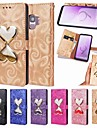 Case For Samsung Galaxy S9 Plus / S9 Flowing Liquid Full Body Cases Heart Hard PU Leather for S8 Plus / S8 / S7 edge