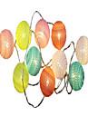 1.5m Guirlandes Lumineuses 10 LED Blanc Chaud Decorative Piles AA alimentees 1pc