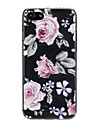 Case For Apple iPhone X / iPhone 7 Ultra-thin / Pattern / Lovely Back Cover Flower Soft TPU for iPhone X / iPhone 8 Plus / iPhone 8