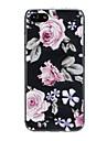 케이스 제품 Apple iPhone X / iPhone 7 울트라 씬 / 패턴 / 러블리 뒷면 커버 꽃장식 소프트 TPU 용 iPhone X / iPhone 8 Plus / iPhone 8