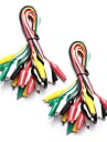 20 Pieces and 5 Colors Test Lead Set & Alligator Clips