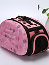 Dogs / Rabbits / Cats Cages / Carrier & Travel Backpack / Shoulder Bag Pet Carrier Portable / Mini / Camping & Hiking Geometric / Fashion / Lolita Gray / Pink / Black