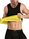Tailletraining korsetvest Tanktop Body Shaper neopreeni Geen Rits Heet zweet Afslanken Gewichtsverlies Tummy Fat Burner Training&Fitness Gym training Training Voor Heren