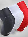 Фиксатор колена для Баскетбол / Велоспорт / Бег Муж. Ударопрочный Спорт Лайкра спандекс 1 ед. Белый / Черный / Красный