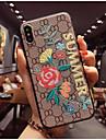 Custodia Per Apple iPhone X / iPhone 8 Fantasia / disegno Per retro Fiore decorativo Morbido TPU per iPhone X / iPhone 8 Plus / iPhone 8