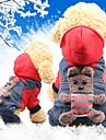Rodents Dogs Cats Coat Dog Clothes Animal Character Yellow Red Cotton Costume For Husky Labrador Alaskan Malamute All Seasons Female Sports & Outdoors Headwarmers