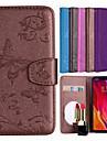 Case สำหรับ Xiaomi Redmi S2 / Mi 8 Wallet / Card Holder / with Stand ตัวกระเป๋าเต็ม Butterfly / ดอกไม้ Hard หนัง PU สำหรับ Redmi Note 5A / Xiaomi Redmi Note 4 / Xiaomi Redmi 5 / Xiaomi Redmi 4A