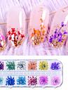 1 pcs Värikäs Nail Jewelry Käyttötarkoitus kynsitaide Manikyyri Pedikyyri Tyylikäs / Kynsien korut