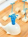 Plastický Moderní Vidličky, Vysoká kvalita 16ks
