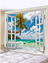 Novelty / Holiday Wall Decor Polyester Classic Wall Art, Wall Tapestries Decoration