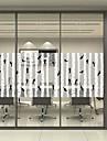 Ablakfólia és matricák Dekoráció Matte / Kortárs / Mindszentek napja Karakter PVC Ablak matrica / Matt / Nappali / Bath Room /  / Kávézó