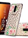 hoesje Voor Samsung Galaxy A6+ (2018) / A6 (2018) Transparant / Patroon Achterkant Bloem Zacht TPU voor A6 (2018) / A6+ (2018) / A8 2018