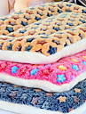 Dogs / Cats Beds Pet Mats & Pads Color Block Soft / Folding Random Color For Pets