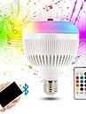 KWB 1pc 12 W 1200 lm E26 / E27 Slimme LED-lampen G95 28 LED-kralen SMD Smart / Bluetooth / Dimbaar RGBW 100-240 V