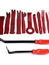 ziqiao 13 pezzi di plastica auto auto porta interna trim rimozione pannello clip pry barra aperta kit di strumenti di alta qualita set di strumenti a mano