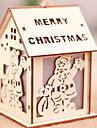 Inredningsglödlampa Jul Trä Originella Juldekoration