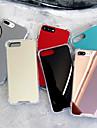 Etui Til Apple iPhone X / iPhone XS Max Stødsikker / Spejl Bagcover Ensfarvet Hårdt Akryl for iPhone XS / iPhone XR / iPhone XS Max