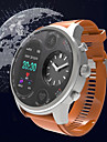 KUPENG T3 Férfi Intelligens Watch Android iOS Bluetooth GPS Sportok Vízálló Szívritmus monitorizálás Vérnyomásmérés Lépésszámláló Hívás emlékeztető Testmozgásfigyelő Alvás nyomkövető ülő Emlékeztető