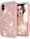 Case For Apple iPhone XR / iPhone XS Max Shockproof / Glitter Shine Back Cover Glitter Shine Hard PC for iPhone XS / iPhone XR / iPhone XS Max