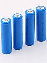18650 Battery Rechargeable Lithium-ion Battery 5000.0 mAh 4pcs Rechargeable for Camping/Hiking/Caving