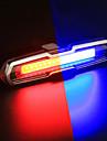 LED اضواء الدراجة ضوء الدراجة الخلفي أضواء السلامة أضواء الذيل دراجة جبلية ركوب الدراجة ضد الماء لون متغاير بطارية  Li-ion قابلة للتشحين 150 lm تغيير أخضر