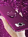 tok Για Samsung Galaxy S9 Plus / S9 Βάση δαχτυλιδιών / Εξαιρετικά λεπτή / Παγωμένη Πίσω Κάλυμμα Στρας Μαλακή TPU για S9 / S9 Plus / S8 Plus