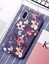 Etui Til Apple iPhone XR / iPhone XS Max Moenster Bakdeksel Blomsternaal i krystall Hard PC til iPhone XS / iPhone XR / iPhone XS Max