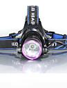 3Mode Hodelykter Sykkellykter Frontlys til sykkel LED 2000 lm 3 lys tilstand med batterier og ladere Vanntett, Nedslags Resistent, Oppladbar Camping / Vandring / Grotte Udforskning, Dagligdags Brug