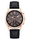 Жен. Наручные часы Кварцевый 30 m Повседневные часы PU Группа Аналоговый На каждый день Мода Черный / Белый / Синий - Синий Розовый Светло-Зеленый