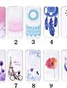 Etui Til Huawei Honor 10 / Honor 9 Lite Gjennomsiktig / Moenster Bakdeksel Blomsternaal i krystall Myk TPU til Huawei Honor 10 / Honor 9 / Huawei Honor 9 Lite