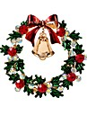 Women\'s Classic Brooches - Rhinestone Bell Ladies, Stylish, Classic Brooch Jewelry Gold For Christmas / Daily