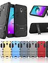 Pouzdro Uyumluluk Samsung Galaxy J3 (2017) Şoka Dayanıklı / Satandlı Arka Kapak Solid Sert PC için J3 (2018)